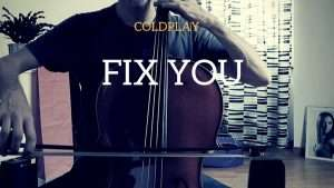 Coldplay - Fix you for cello and piano (COVER) Видео