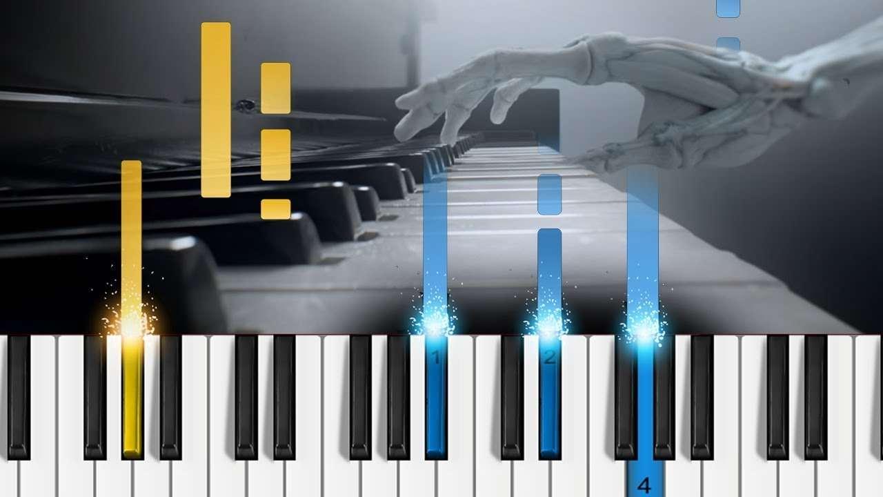 Westworld - Main Theme - Easy Piano Tutorial Видео — Про Нота
