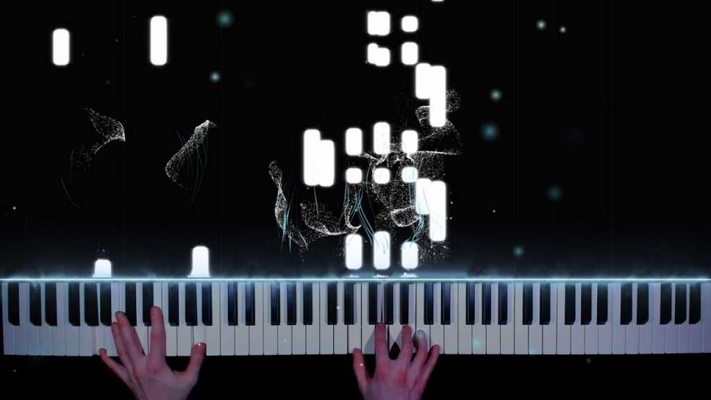 GONE.Fludd - ПУСТОТА - кавер на пианино | урок | как играть Видео