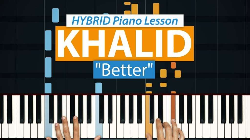 "How To Play ""Better"" by Khalid | HDpiano (Part 1) Piano Tutorial Видео"