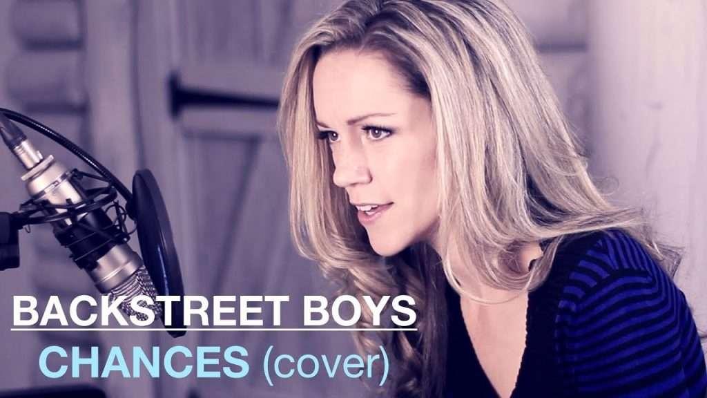 CHANCES Backstreet Boys Cover | featuring Lynsay Ryan on Piano Видео