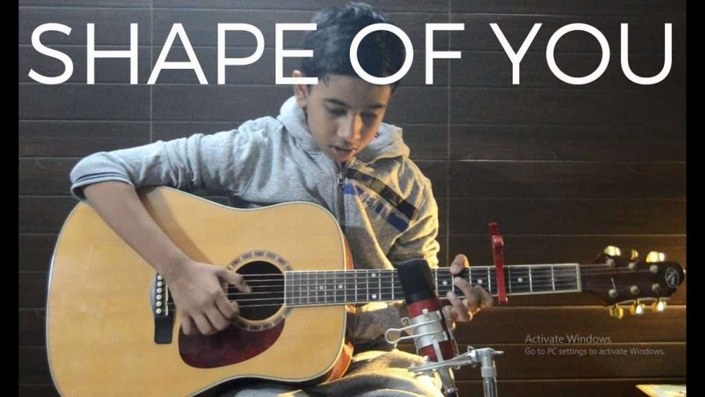 Shape of You   Ed Sheeran ( Guitar Fingerstyle Cover ) Видео