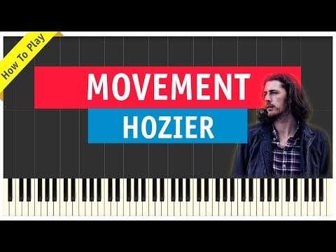 Hozier - Movement - Piano Cover (Tutorial & Sheet Music) Видео