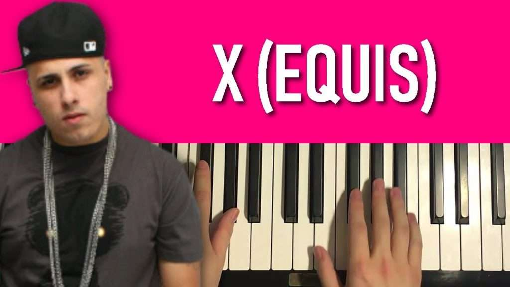HOW TO PLAY - Nicky Jam, J Balvin - X (Equis) (Piano Tutorial Lesson) Видео