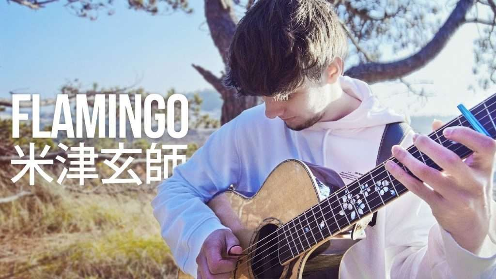 米津玄師 Kenshi Yonezu「Flamingo」Fingerstyle Guitar Cover Видео