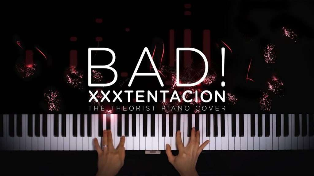 XXXTENTACION - BAD! | The Theorist Piano Cover Видео