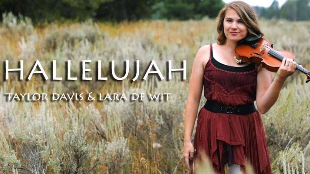 Hallelujah (Violin & Piano Cover) - Taylor Davis & Lara de Wit Видео