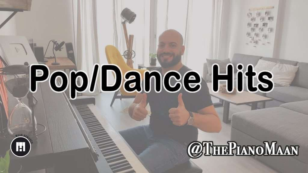 3 Pop/Dance Hits [Piano Cover] - Maan Hamadeh Видео