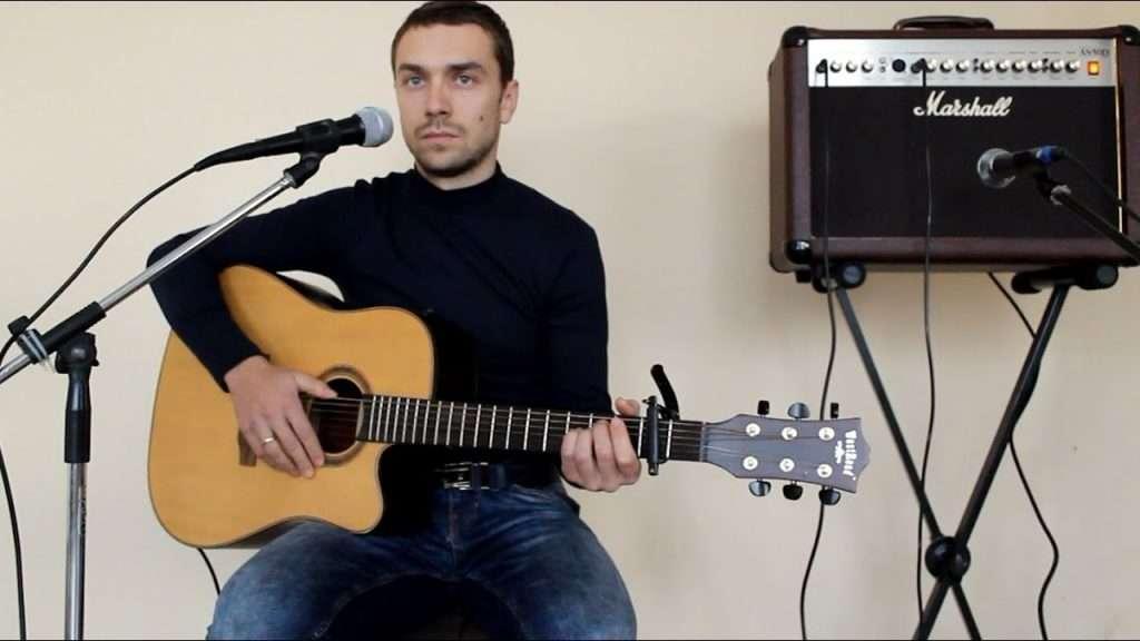 (кавер) один в каное човен (песни под гитару или на гитаре) Видео
