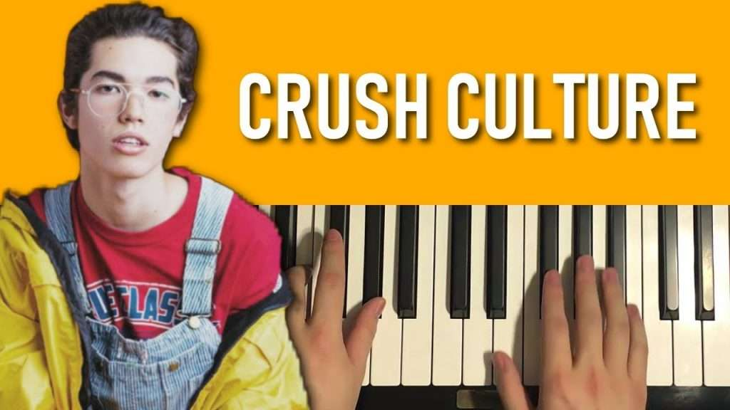 Conan Gray - Crush Culture (Piano Tutorial Lesson) Видео