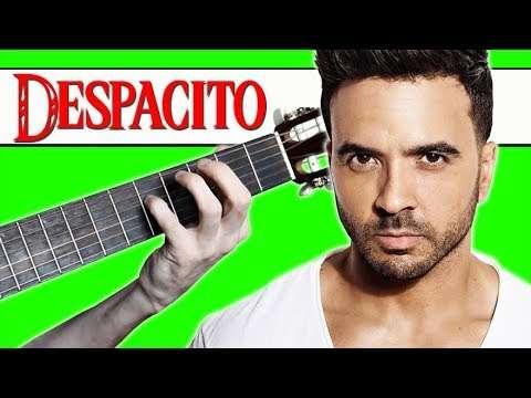 Как играть DESPACITO на Гитаре (Разбор) Видео