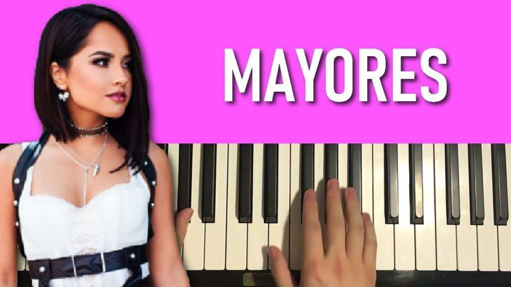 HOW TO PLAY - Becky G, Bad Bunny - Mayores (Piano Tutorial Lesson) Видео