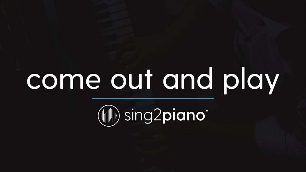 come out and play (Piano Karaoke Instrumental) Billie Eilish Видео