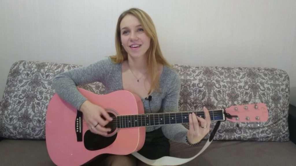 Океан Эльзы - Стреляй. Кавер (Cover) на гитаре - Ирина Могила. Видео
