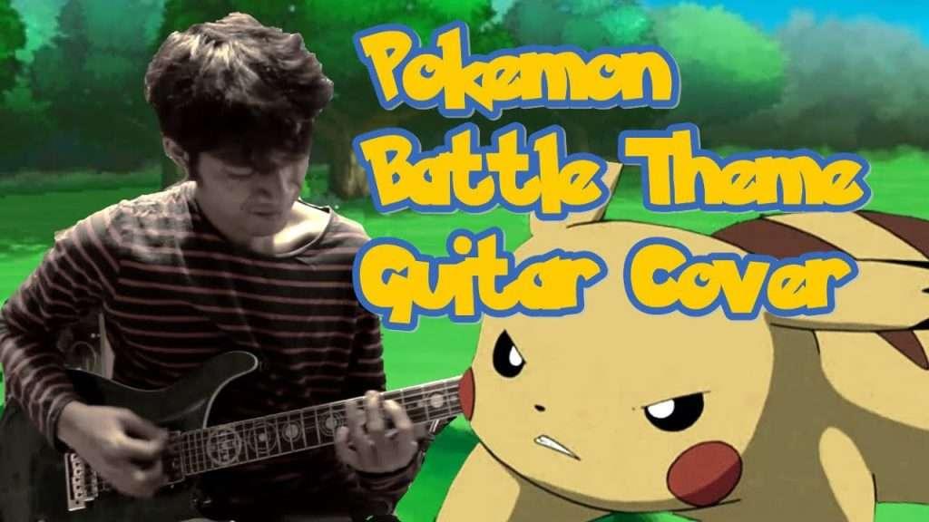 Pokemon Battle Theme (Guitar Cover) Видео