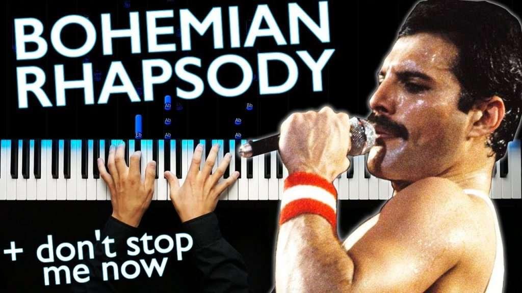 QUEEN - BOHEMIAN RHAPSODY - Piano cover Видео