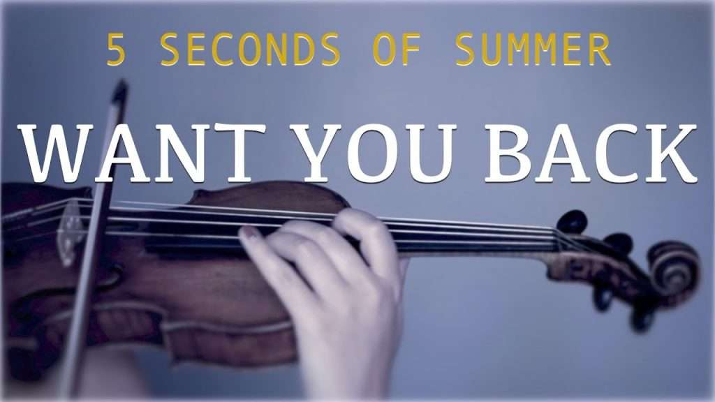 5 Seconds of Summer - Want You Back for violin and piano (COVER) Видео