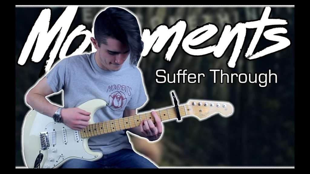 Movements - Suffer Through (Guitar & Bass Cover w/ Tabs) Видео