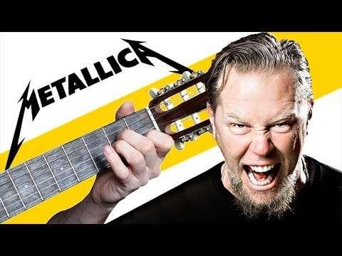 Metallica - Fade To Black на Гитаре (Разбор) Видео