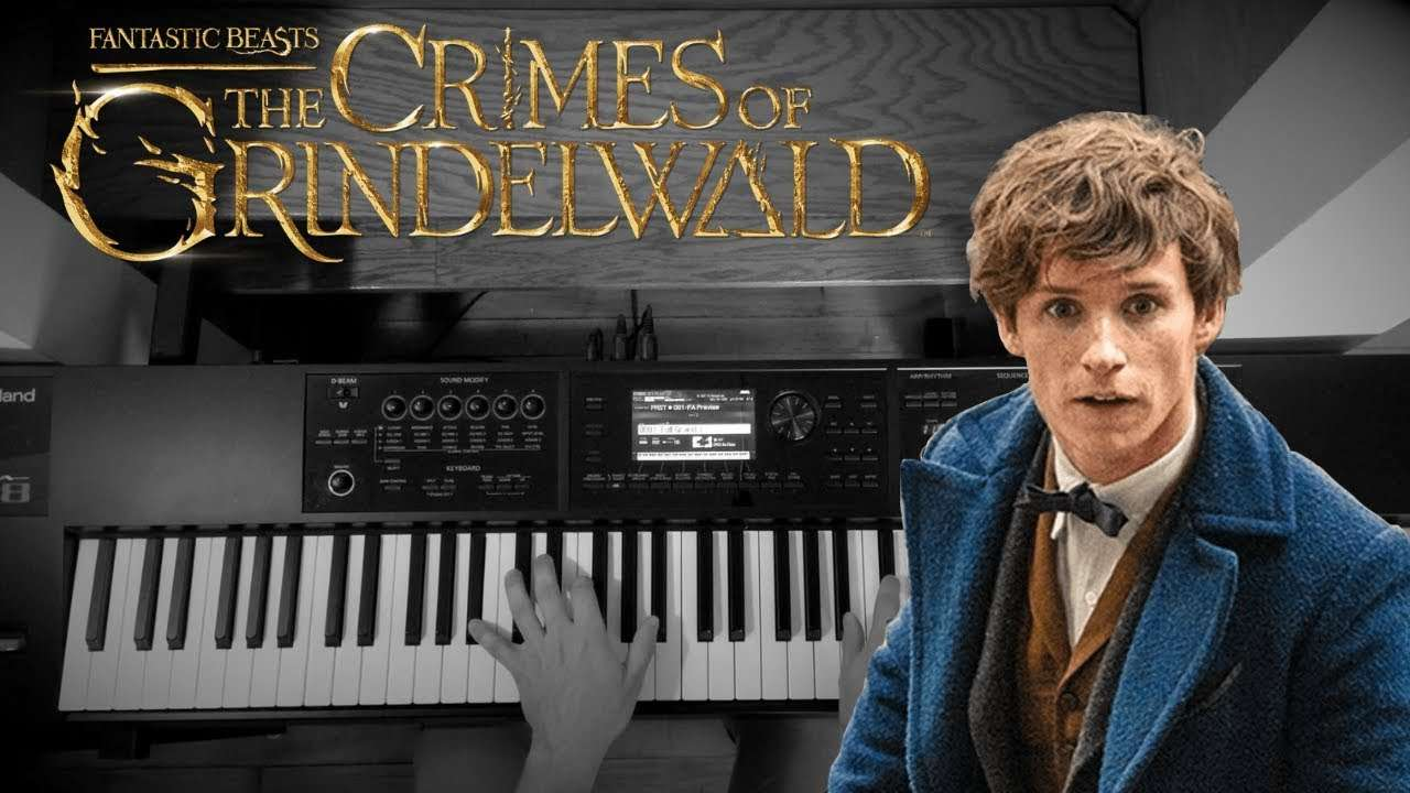 Fantastic Beasts Theme (Solo Piano) - The Crimes of Grindelwald | Piano Cover Видео