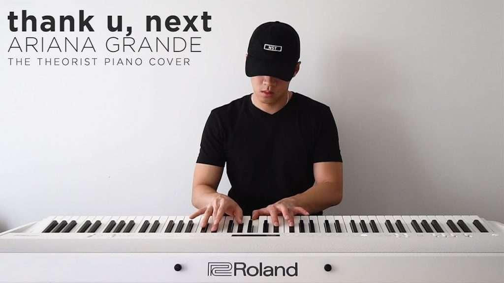 Ariana Grande - thank u, next | The Theorist Piano Cover Видео
