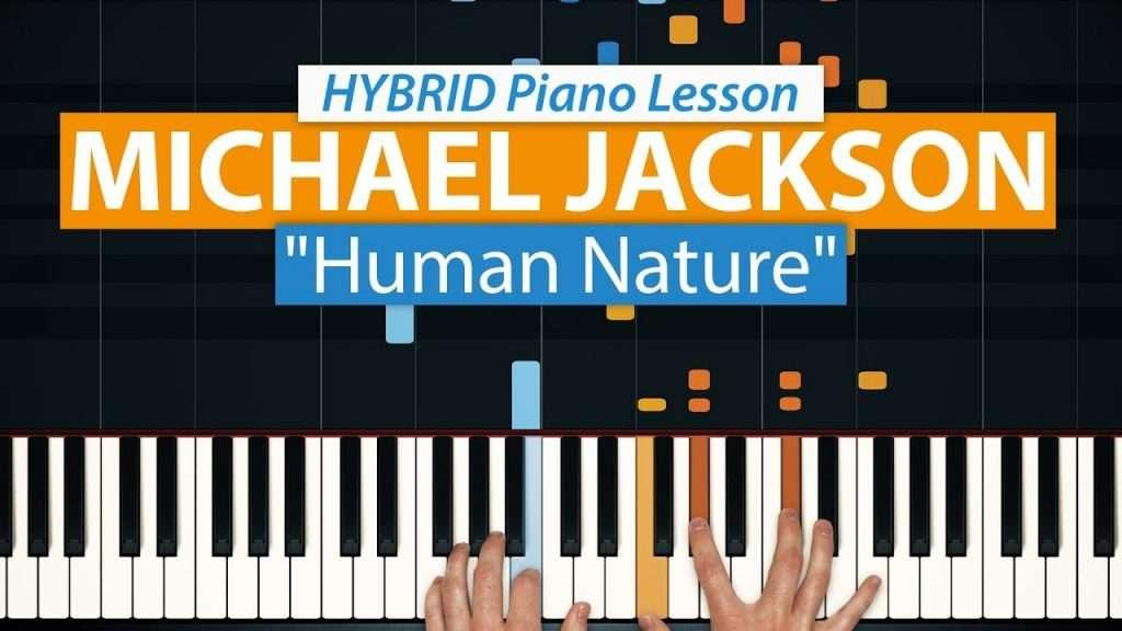 "How To Play ""Human Nature"" by Michael Jackson | HDpiano (Part 1) Piano Tutorial Видео"