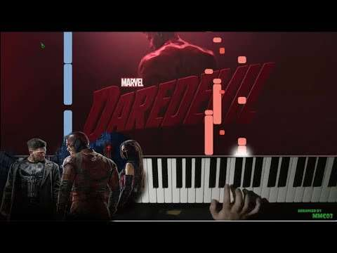 Marvel's Daredevil Main Theme - Piano Cover Видео