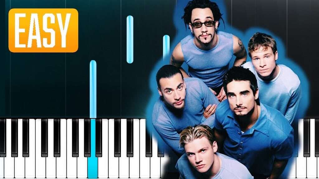 Backstreet Boys - Chances 100% EASY PIANO TUTORIAL Видео