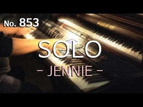 제니(JENNIE) - 솔로(SOLO) 피아노 연주와 악보(piano cover and sheet) Видео