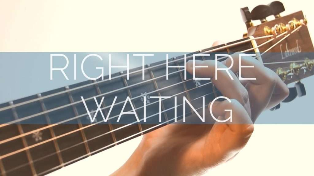 Richard Marx | Right Here Waiting | Fingerstyle Guitar | Acoustic Cover Видео