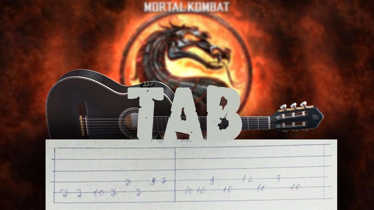 Тема Mortal Kombat на гитаре