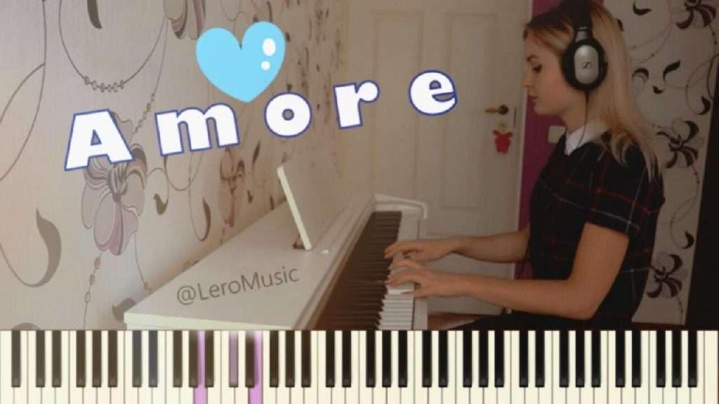Мари Краймбери - AMORE :: PIANO COVER :: НОТЫ :: Как играть на пианино? Видео