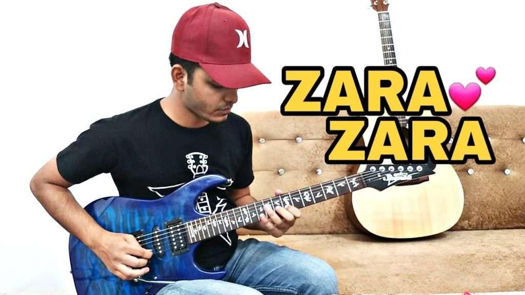 Zara Zara Bahekta Hai (Soft Rock) Guitar Cover With Tabs & Chords | instrumental | RHTDM Видео