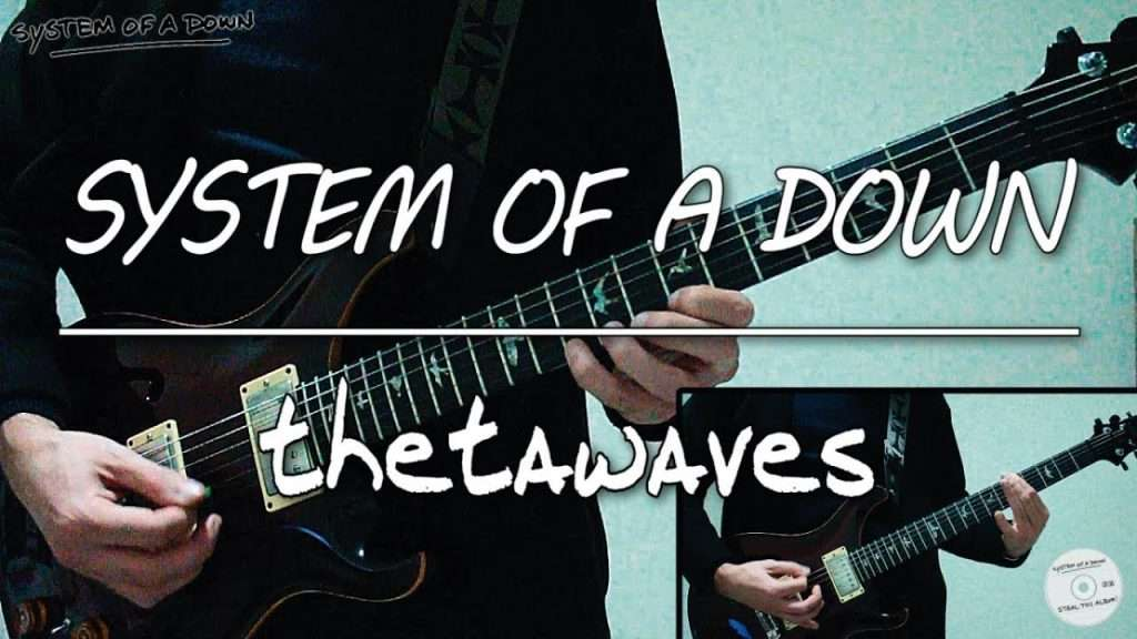 System Of A Down - Thetawaves (guitar cover) Видео
