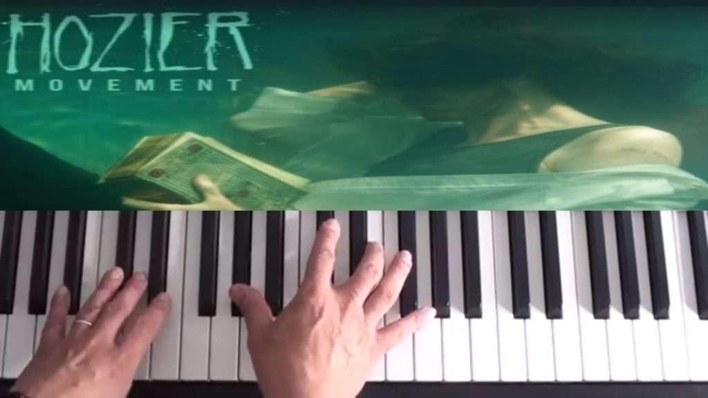 Hozier - Movement - Piano Tutorial Видео