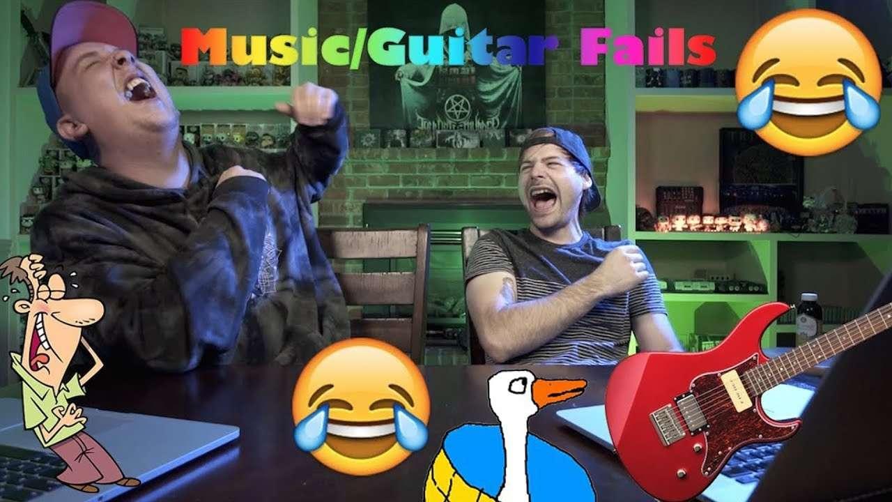 ржачные музыкальные/гитарные фэйлы (Jared Dines rus) Видео