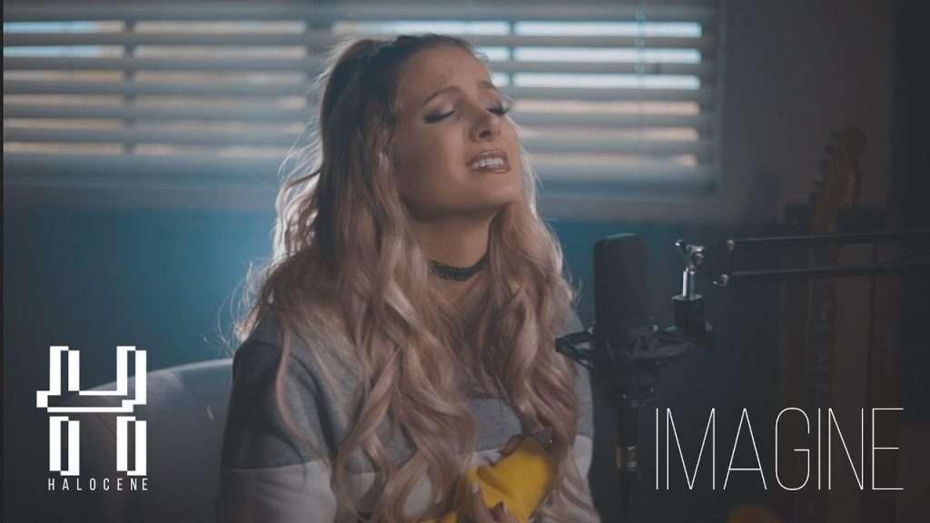 Ariana Grande - Imagine - Piano Ballad Cover by Halocene Видео