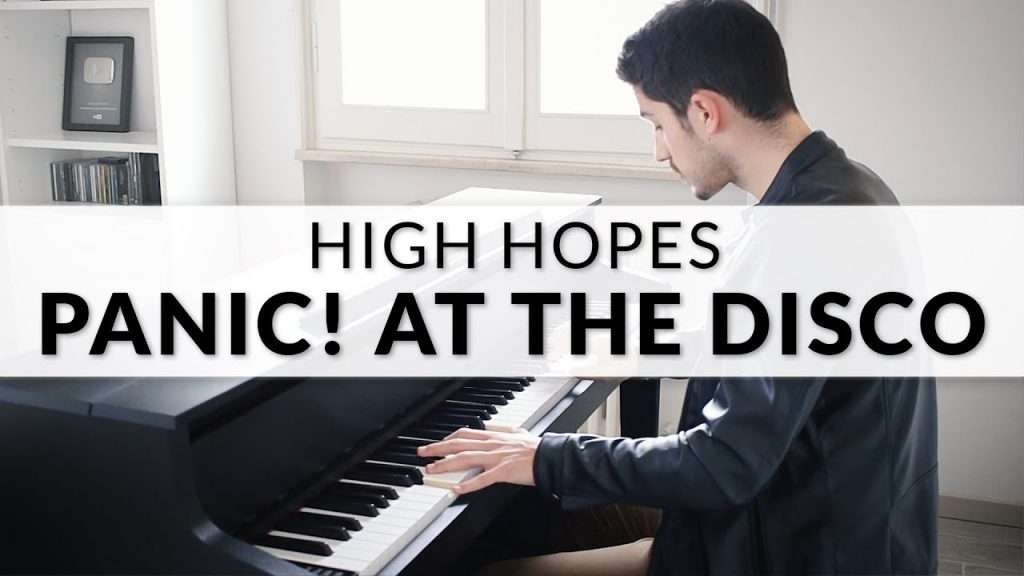 Panic! At The Disco - High Hopes | Piano Cover Видео