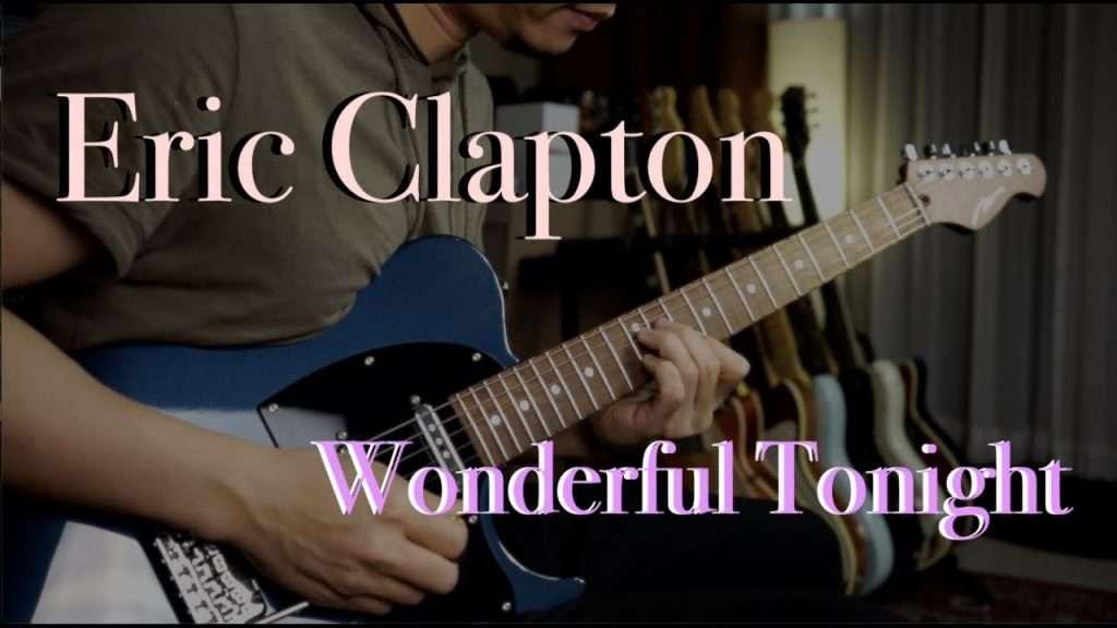 Eric Clapton - Wonderful Tonight - Guitar cover by Vinai T Видео