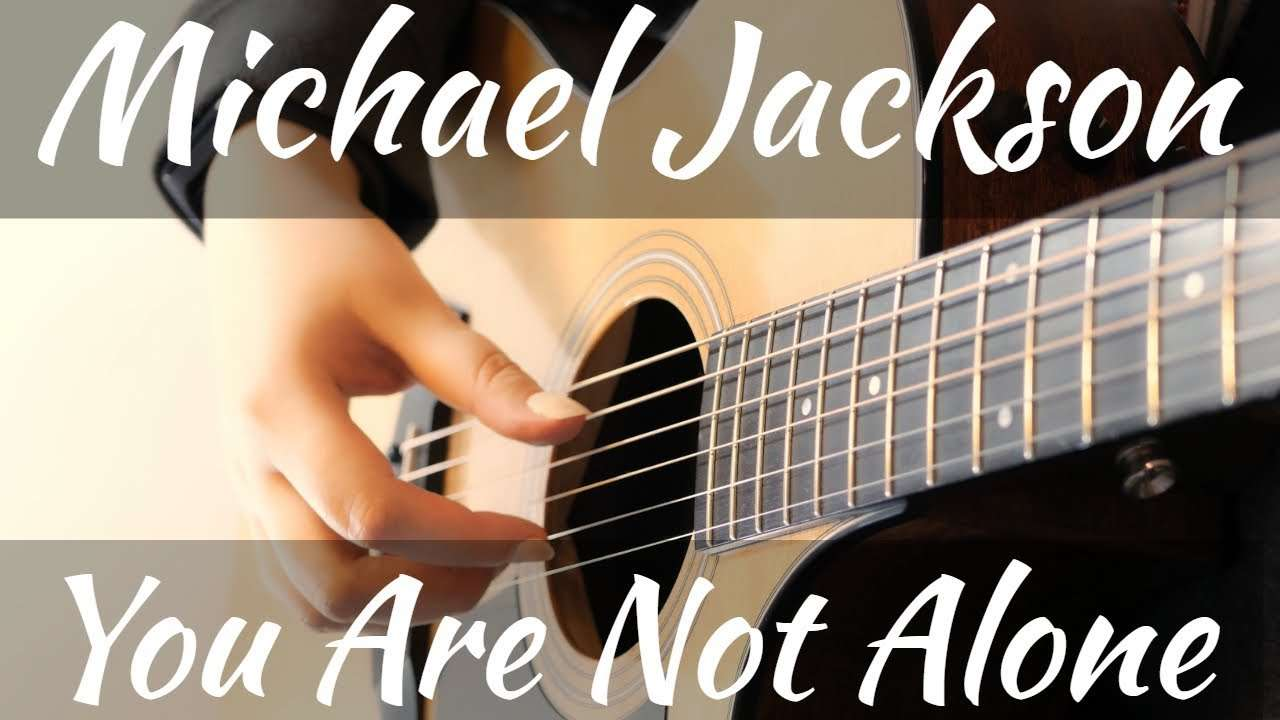 Michael Jackson | You Are Not Alone | Acoustic Fingerstyle Guitar Cover Видео