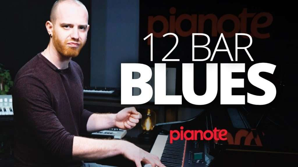 12 Bar Blues Piano Lesson Видео
