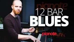 12 Bar Blues Piano Lesson Видео