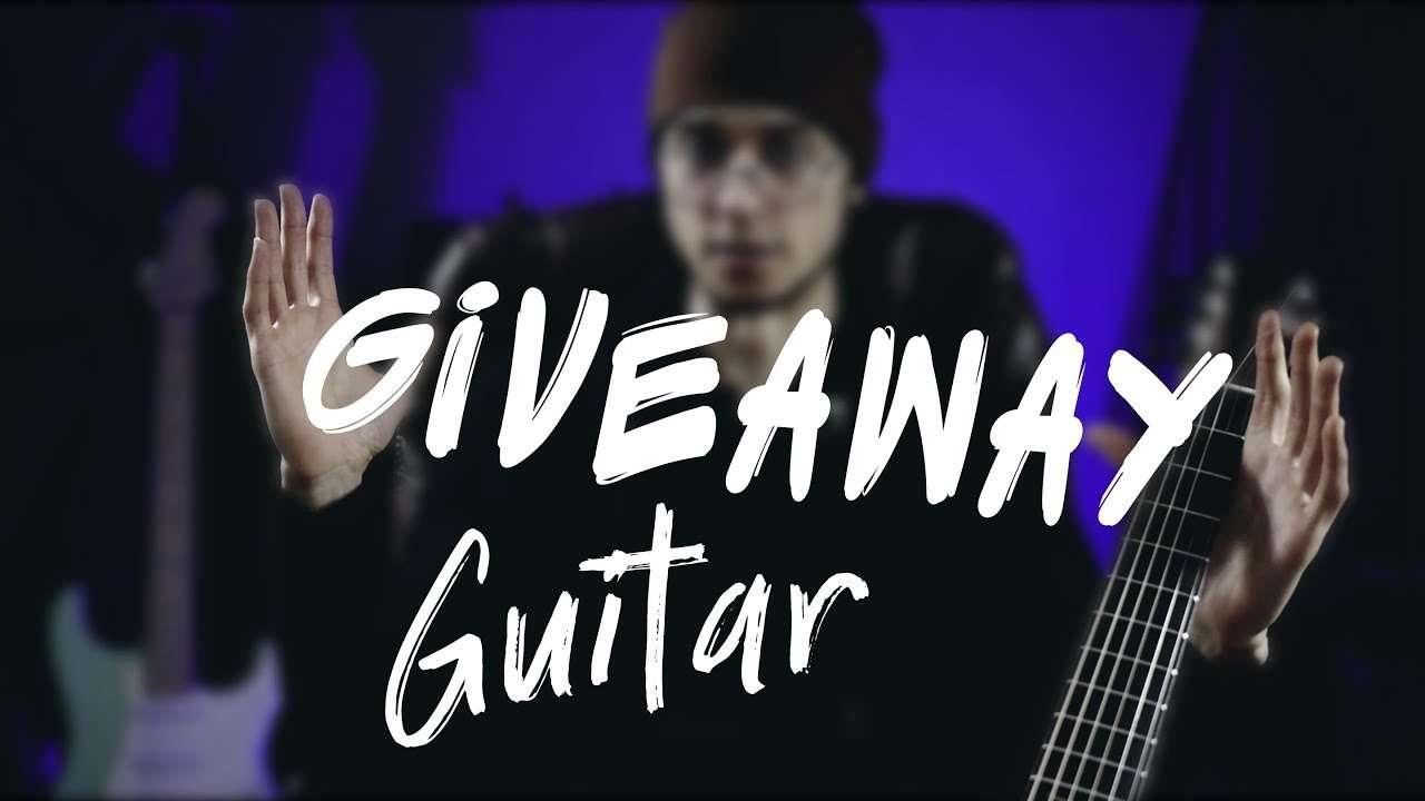 500k GUITAR GIVEAWAY Видео