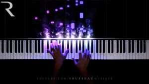 Ariana Grande - 7 rings (Piano Cover) Видео