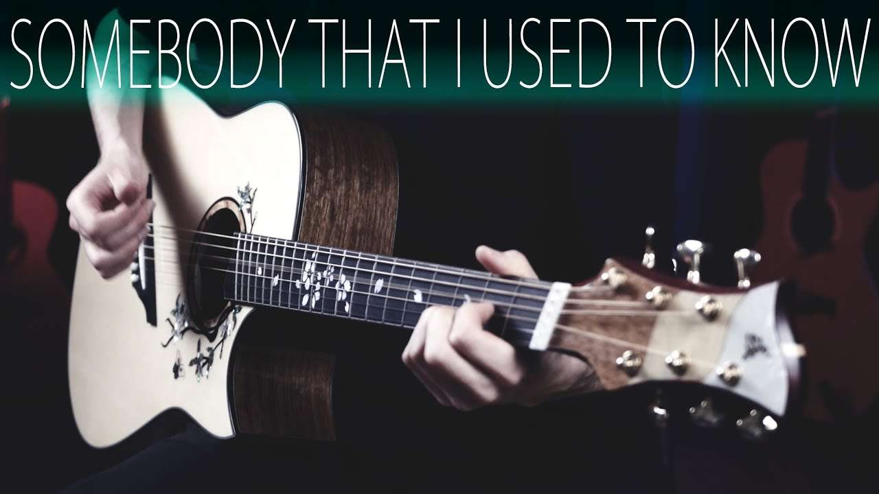 Gotye - Somebody that I used to know⎪Acoustic guitar fingerstyle cover Видео