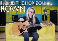 Как играть BRING ME THE HORIZON — DROWN (ACOUSTIC)/разбор/аккорды/бой/cover Видео